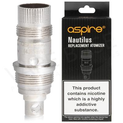 Aspire Nautilus Vape Coils 1.8ohm