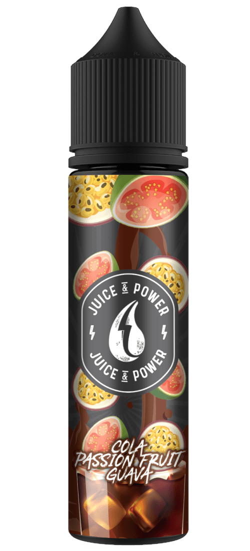 JUICE N POWER COLA PASSION GUAVA50ML