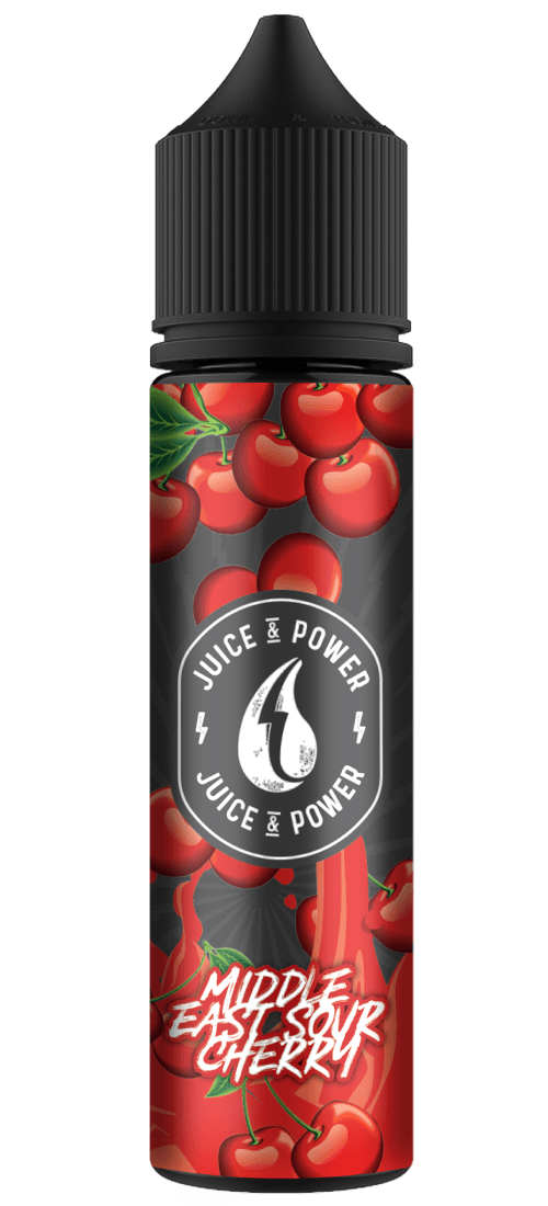 JUICE N POWER MIDDLE EAST SOUR CHERRY50ML