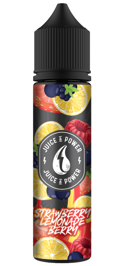 JUICE N POWER STRAW LEMON BERRIES 50ML